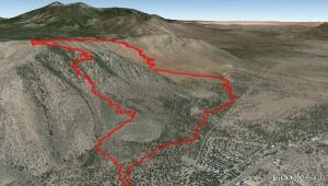 Google-Earth-Track-Wanderung-Flagstaff