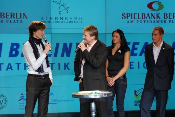 Team Berlin Abend 2009 - Carsten Schlangen im Interview