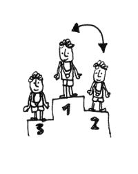 Sieger oder Verlierer - Eine Illustration von Norman Palm zum Blogbeitrag Sieg oder Niederlage