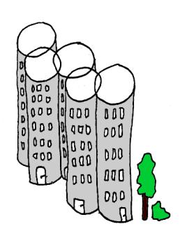 Olympic Architecture - Eine Illustration von Norman Palm zum Blog von Carsten Schlangen
