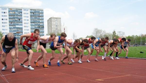 Berliner Läufermeeting - Start 600m-Lauf