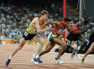 Carsten Schlangen bei den Olympischen Spielen in Peking - Bild Hensel
