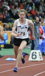 Carsten Schlangen - 800m Lauf Baunatal - Foto: Hensel