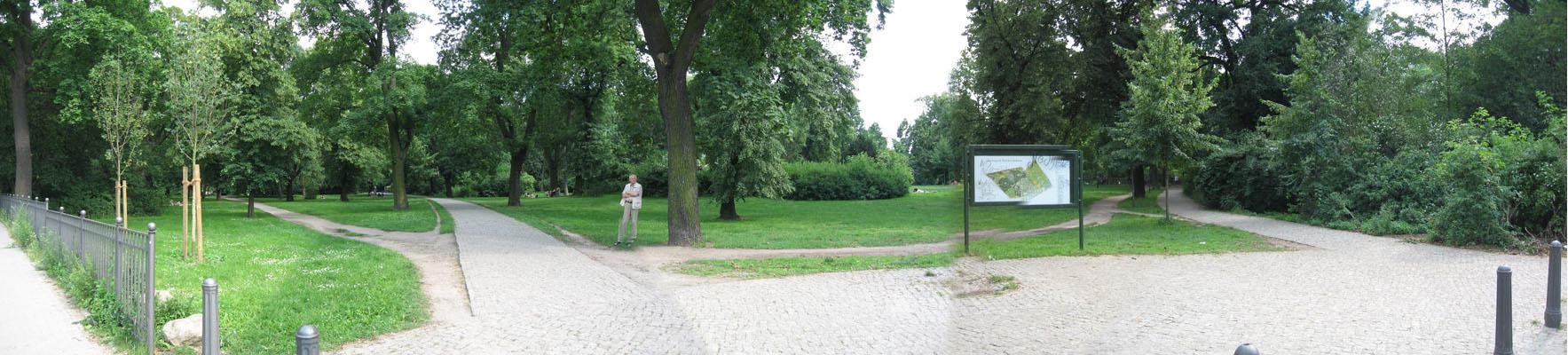 Volkspark Friedrichhain Laufroute von Carsten Schlangen