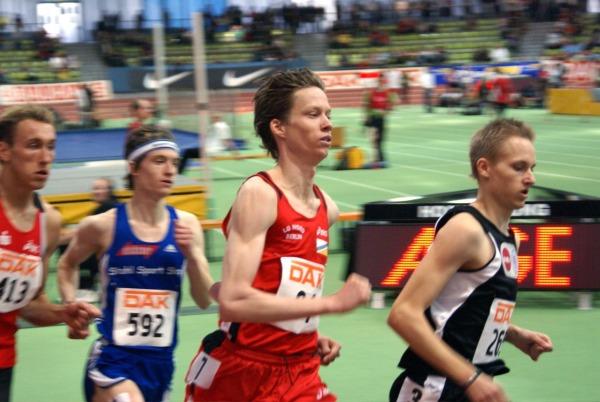 Carsten Schlangen im Vorlauf der 1500m in Sindelfingen