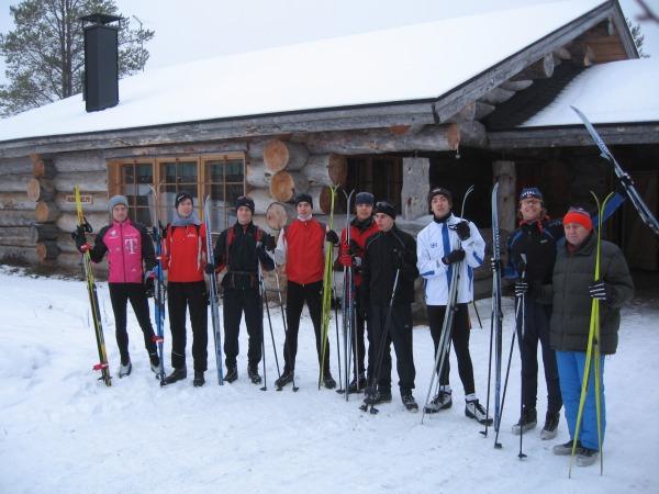 Die Hauptstadtläufer im Schnee - Bericht 1. Skitag Runner's World