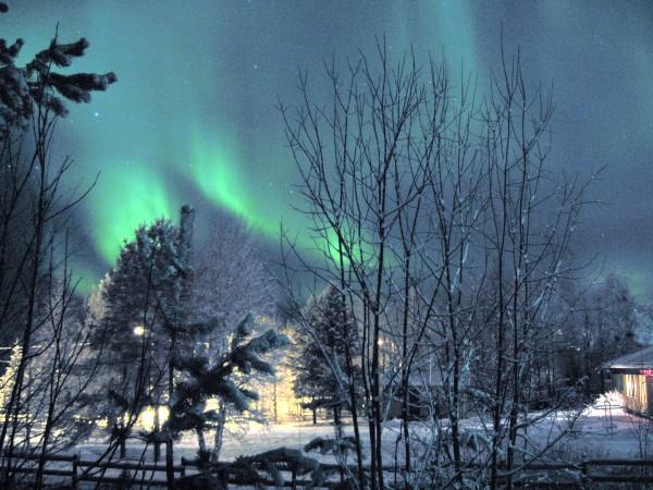 Nordlichter in Kuusamo