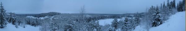 Panorama von Ruka (Finnland)