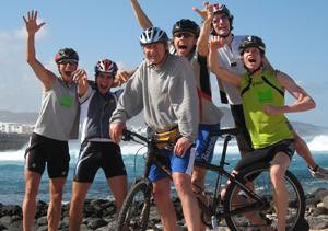 Meppener Tagespost - Hart trainiert auf Lanzarote (Bild)