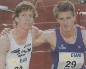 Carsten Schlangen und Daniel Gruber