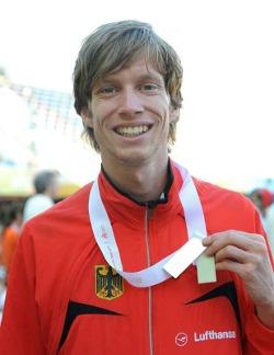 Carsten Schlangen mit Silbermedaille